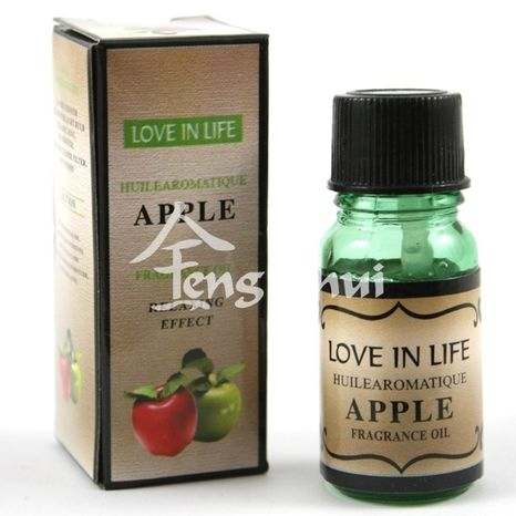 Vonný olej Jablko zelené