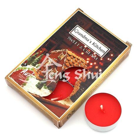 Voňavé čajové sviečky Babkina kuchyňa