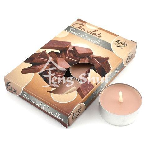 Voňavé čajové svíčky - čokoláda